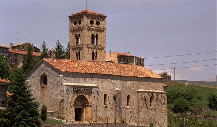 Romànic al Ripollès: Camprodon, Molló i Llanars